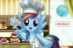 Rainbow Dash Cake Decoration