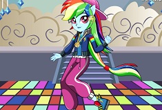 Rainbow Dash Dance Magic