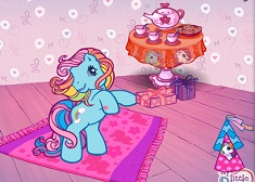 Rainbow Dash Glamorous Tea Party