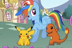 Rainbow Dash Pokemon Go