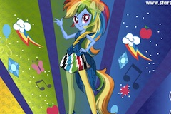 Rainbow Dash Rainboom Style
