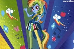 Rainbow Dash Rainboom Style