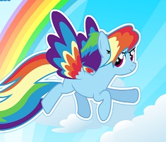 Rainbow Dash Rainbow Power