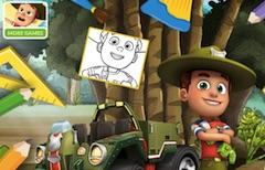 Ranger Rob Coloring Book