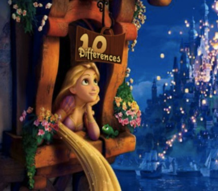 Rapunzel 10 Differences