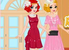 Rapunzel and Ariel 20s Fashion Contest