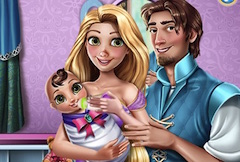Rapunzel and Flynn Baby Care
