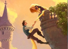 Rapunzel and Flynn Balcony Puzzle
