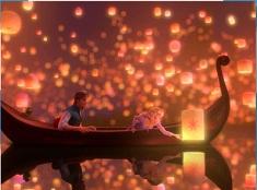 Rapunzel and Flynn Lanterns Puzzle