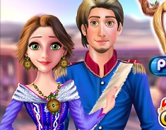 Rapunzel and Flynn Party Dress Up