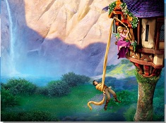 Rapunzel and Flynn Tower Puzzle