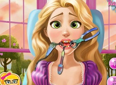 Rapunzel at the Dentist