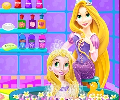 Rapunzel Baby Princess Bath