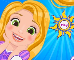 Rapunzel Baby Teeth