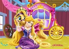 Rapunzel Carriage Deco
