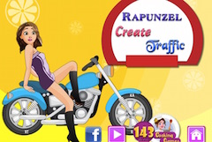 Rapunzel Create Traffic Decor