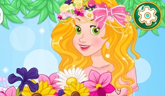 Rapunzel Flower Crown