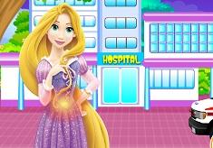 Rapunzel in Hospital
