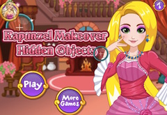 Rapunzel Makeover Hidden Objects