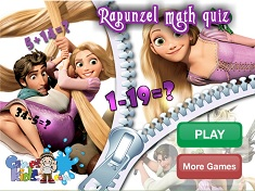 Rapunzel Math Quiz