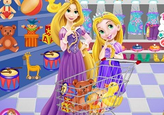 Rapunzel Mother and Baby Shopping