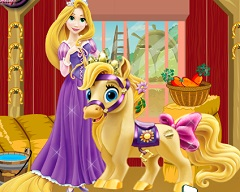 Rapunzel Pony Care