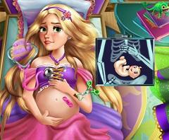 Rapunzel Pregnant Injured