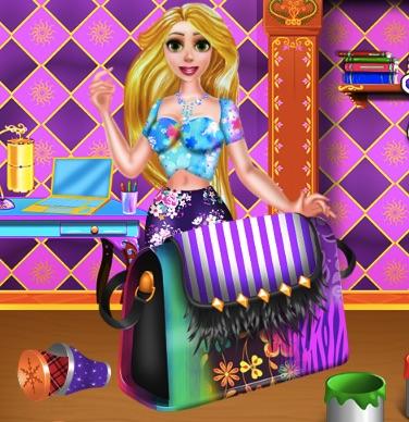 Rapunzel Purse Decor