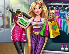 Rapunzel Real Shopping