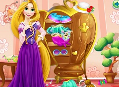 Rapunzel Room Cleaning 2