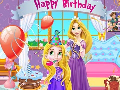 Rapunzel Surprise Party