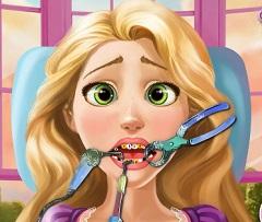 Rapunzel Tooth Injury