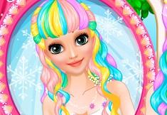 Rapunzel Wedding Hair Design