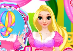 Rapunzel Wedding Hair Design 3