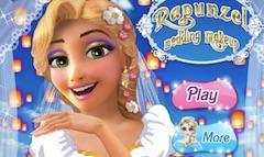Rapunzel Wedding Makeup