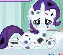 Rarity Injured