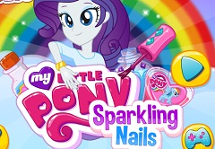Rarity Sparkling Nails