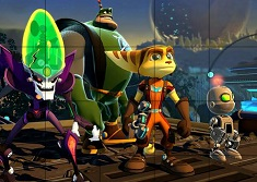 Ratchet and Clank Switch Puzzle