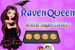 Raven Queen Rolled Sugar Cookies