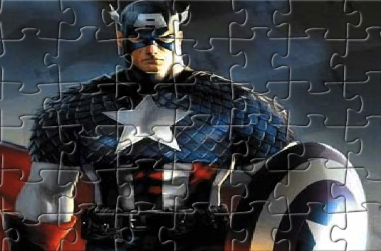 Real Captain America Puzzle