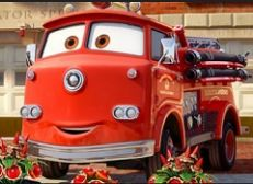 Red Fire Truck Puzzle
