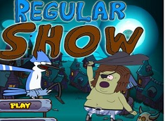 Regular Show Halloween Night