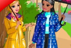Retro Rain Dress Up