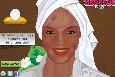 Rihanna Facial Makeover