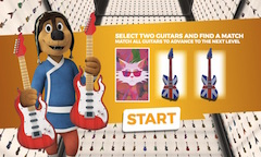 Rock Dog Guitar Match