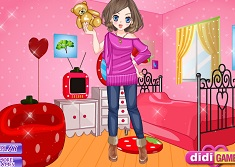Room Stay Girl Dress Up