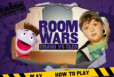 Room Wars Crash VS Cleo