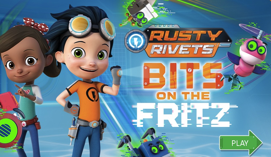Rusty Rivets Bits on the Fritz