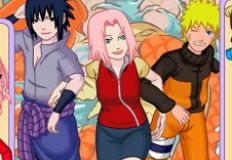Sakura Naruto and Sasuke Dress Up