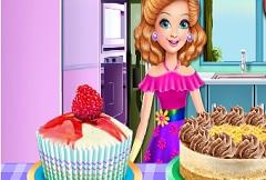 Sandra Cooking Desserts